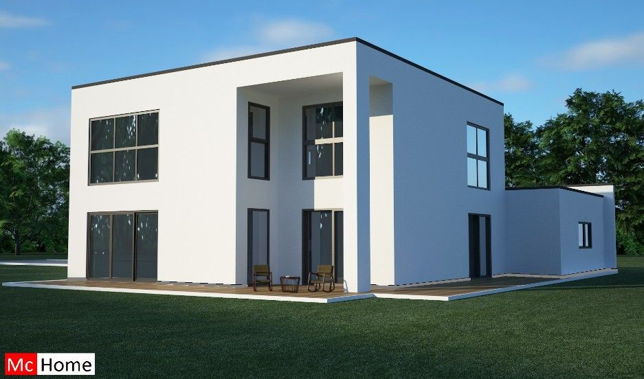 mc home homenl m5 moderne kubistische energieneutrale woning depot bgc