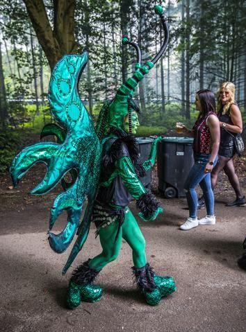 Mystic Garden festival in het Sloterpark