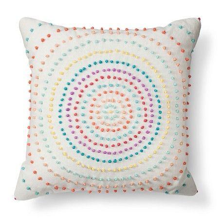 Texture Knot Circle Decorative Pillow Xhilaration™ Target Room Adorable Target Decorative Bed Pillows