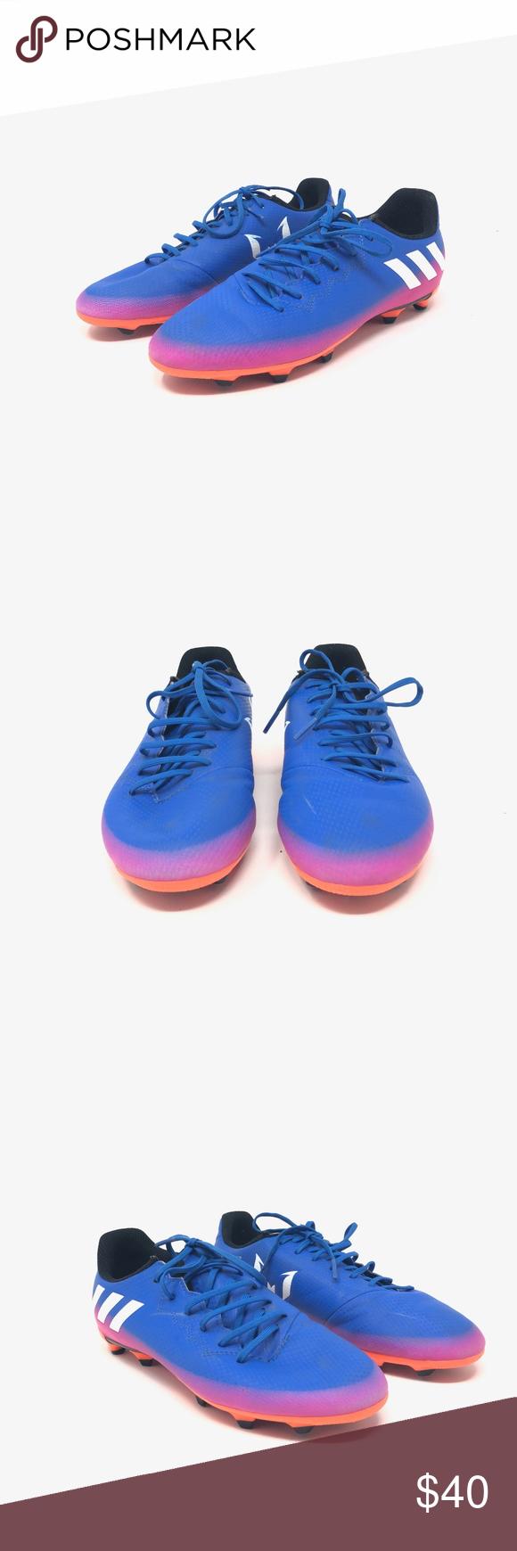 18f0c1cc7 Adidas Messi 16.3 FG Soccer Shoes 5.5 Adidas Performance Mens Messi 16.3 FG  Soccer Training Shoes