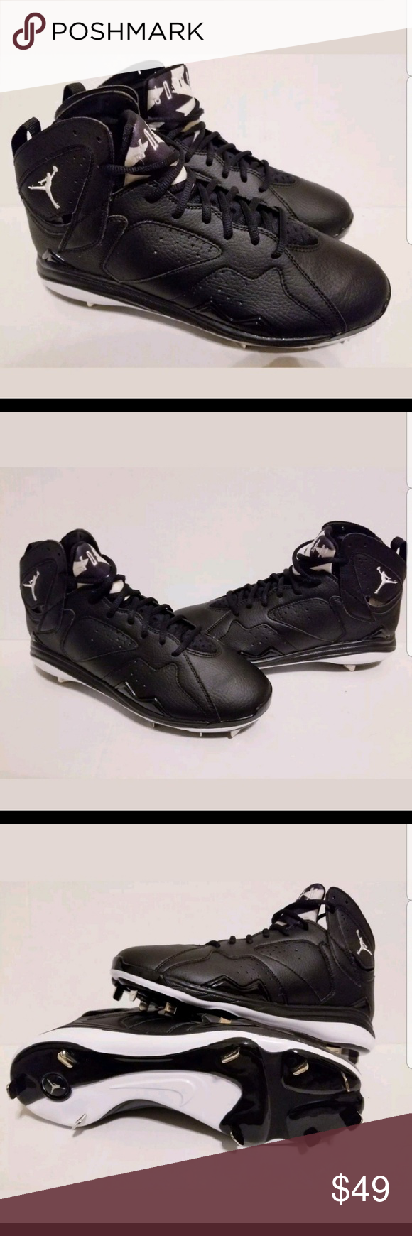 1d0e270ba102cb Nike Air Jordan 7 VII Retro Metal Baseball Cleats Nike Air Jordan 7 VII  Retro Metal