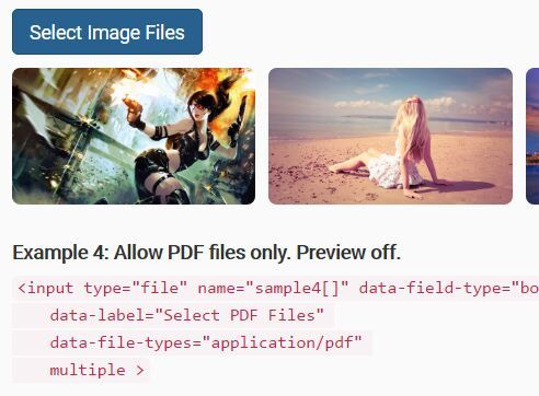 Bootstrap File Input Enhancement Plugin With jQuery | jQuery Plugins