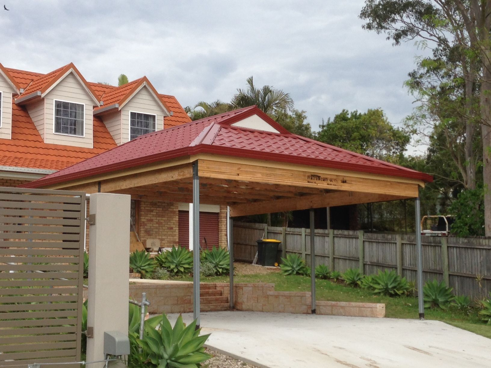 Metal Tile Roofing Carport Kits Roof Tiles Reroofing Metal