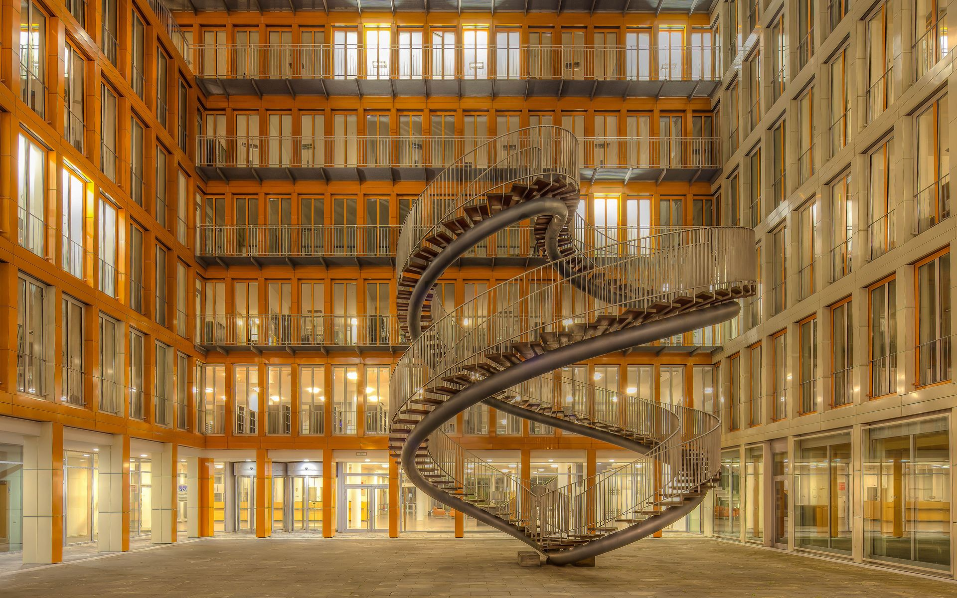 Nature Landscapes Widewallpaper Spiral Staircase To Nowhere 25769 (1920 1200)