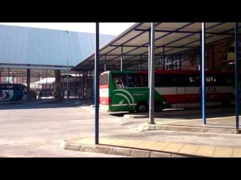 Malaga bus station - YouTube