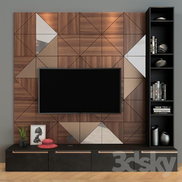 3d Models Other Cabinet Furniture 020 In 2020 Living Room Tv Unit Designs Tv Cabinet Design Modern Tv Wall Design #tv #unit #design #in #living #room