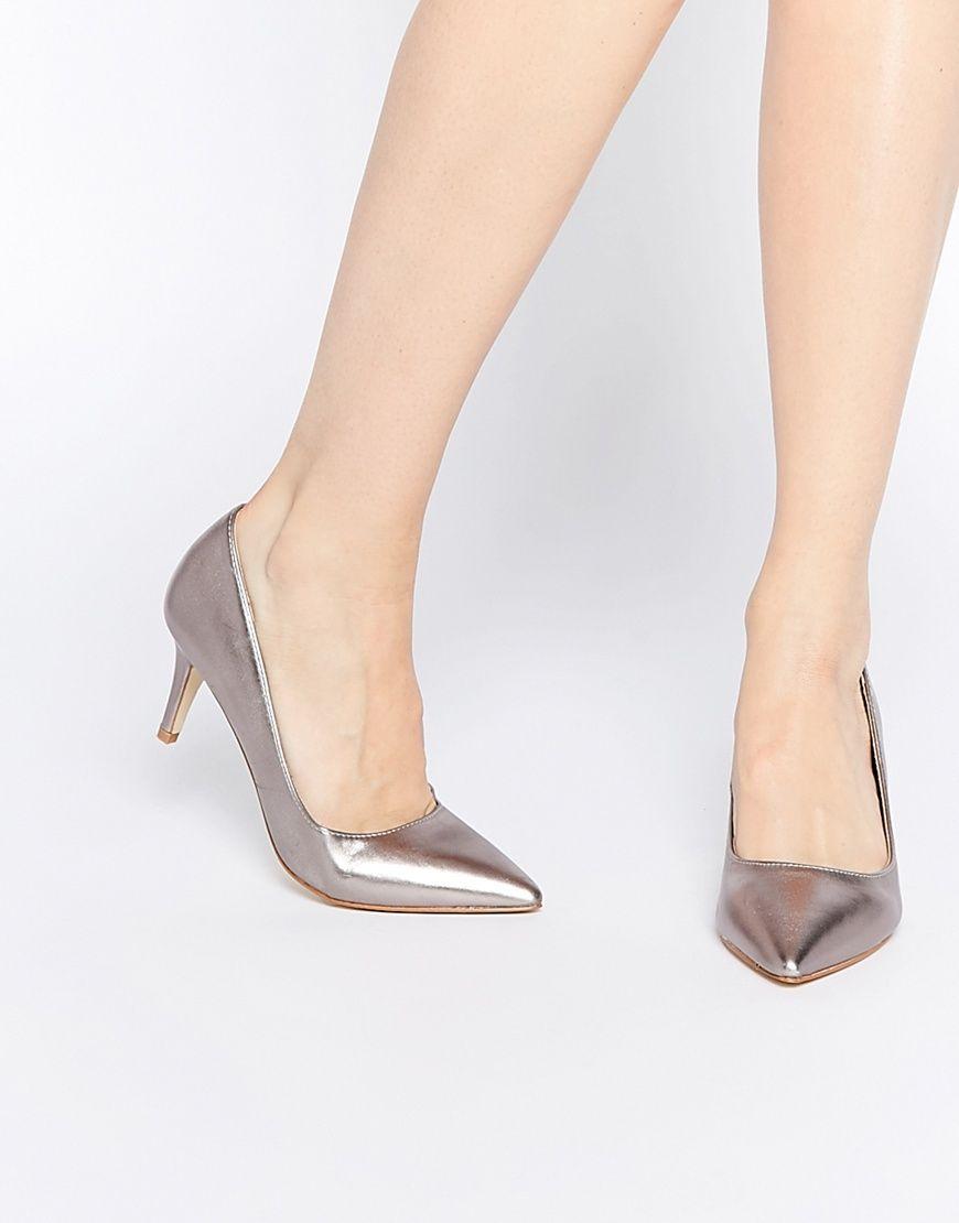 93e36f25571f7 Oasis Metallic Court Shoes