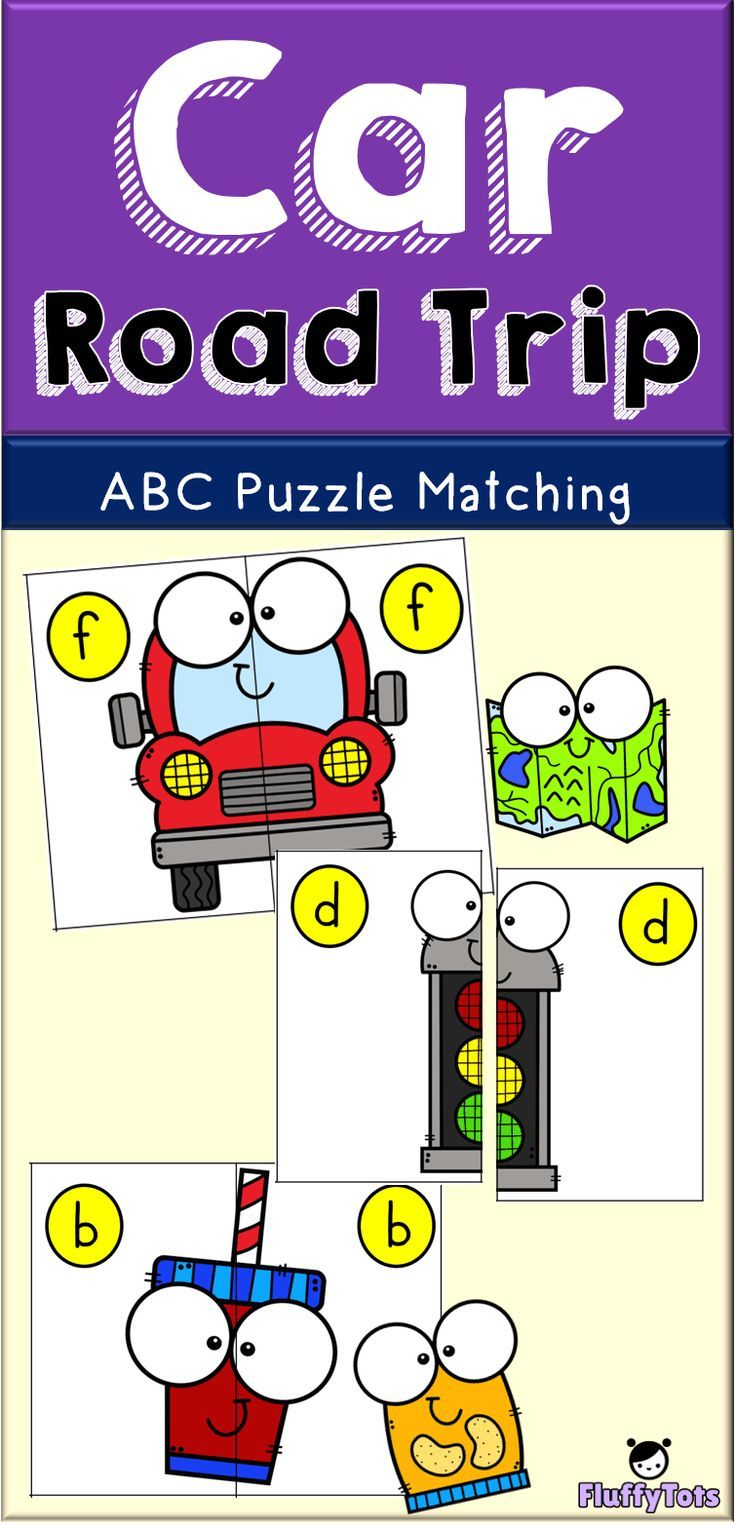 Car Road Trip Matching Puzzle Games FREE 26 Simple
