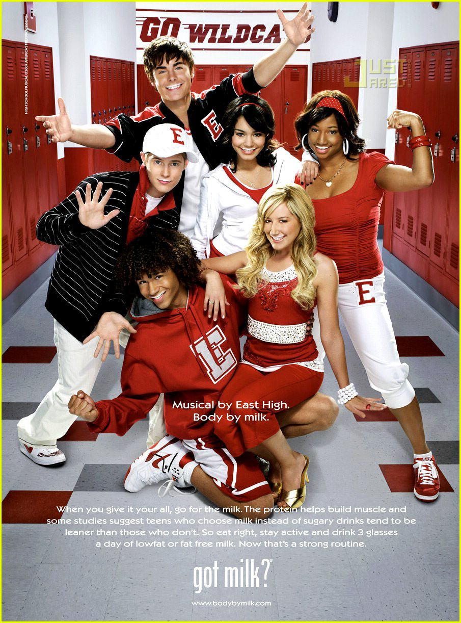 high school musical cast corbin bleu ashley tisdale lucas