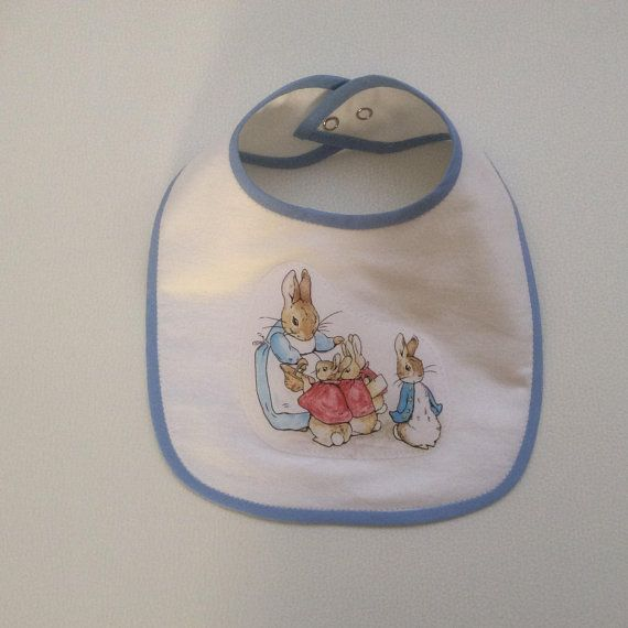 Peter rabbit bib baby boy bib beatrix potter bib newborn gift peter rabbit bib baby boy bib beatrix potter bib newborn gift baby negle