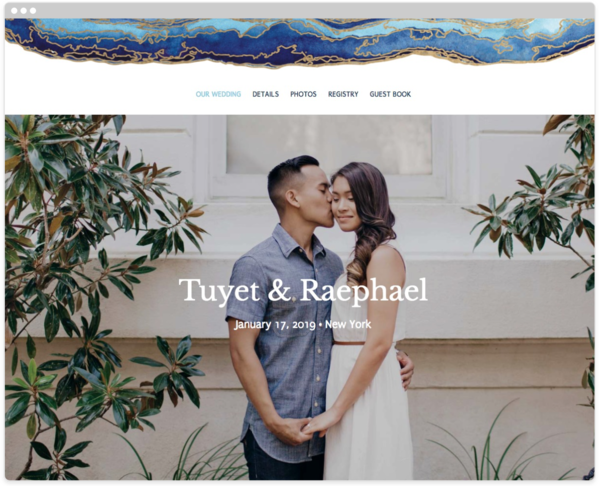 Gold Flourish Wedding Website Template The Knot Wedding Website Free Wedding Website Wedding Website Design