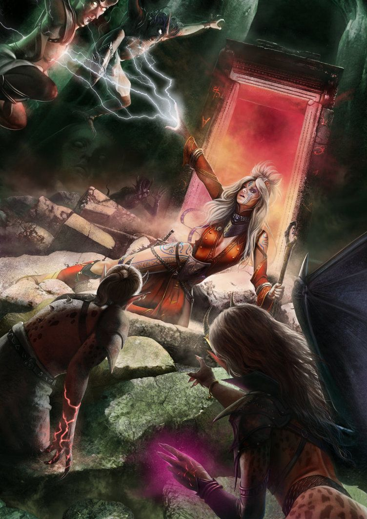 Seoni Portal Escape by Thaldir on DeviantArt Fantasy