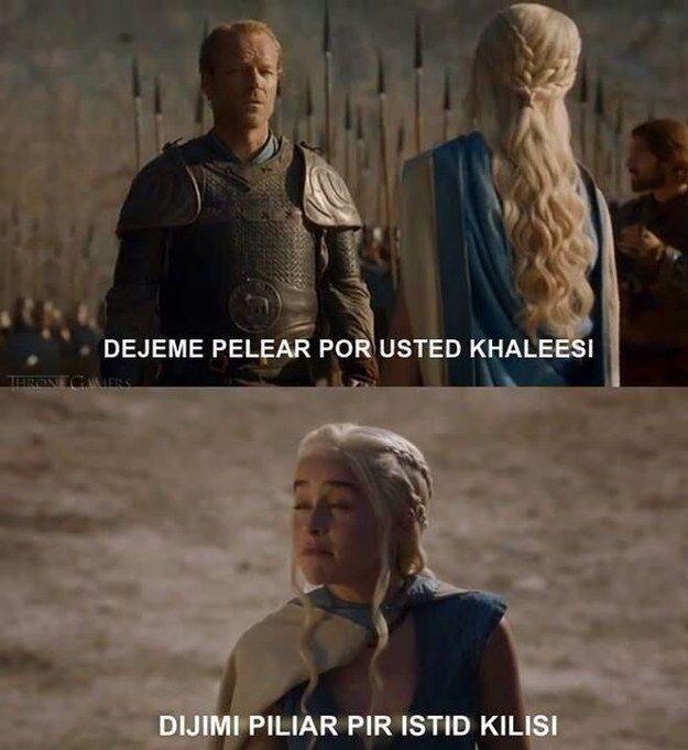 LOL Khaleesi malvada. | 21 Chistes que solo los amantes de Game of Thrones entenderán