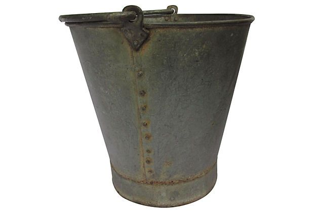 French Flower Bucket on OneKingsLane.com