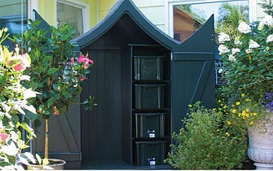 armoire de jardin en bois exotique tek import am nagement. Black Bedroom Furniture Sets. Home Design Ideas