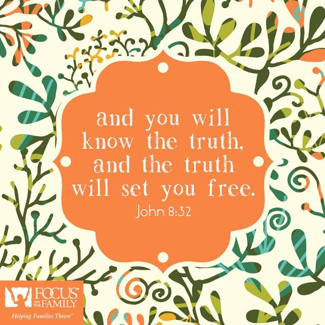 REDE MISSIONÁRIA: KNOW THE TRUTH (JOHN 8:32)