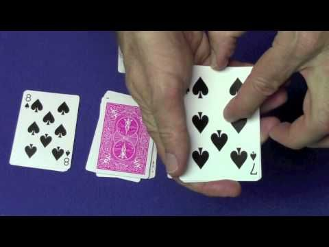 Best Mathematical Card Trick Revealed 44th Position Counting Trick Card Tricks Mathematical Card Tricks Card Tricks Revealed