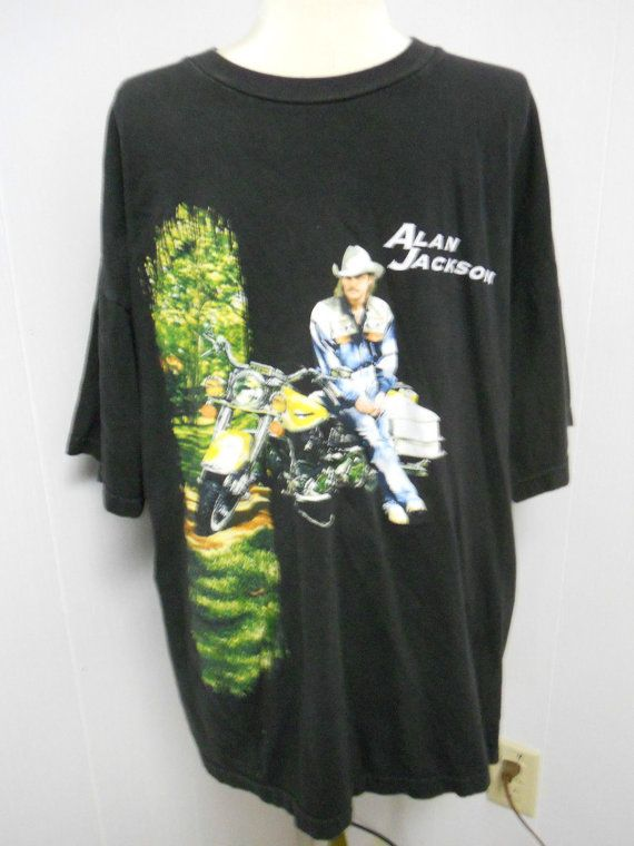 Retro Vintage Alan Jackson Motorcycle Mens By Pfantasticpfindstoo