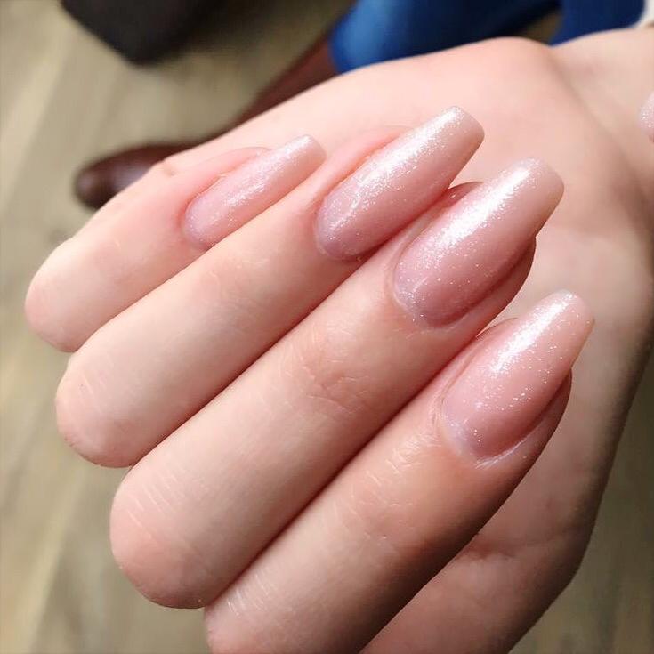 Nude nails | Ongle nude | Gel nails | Ongles en gel