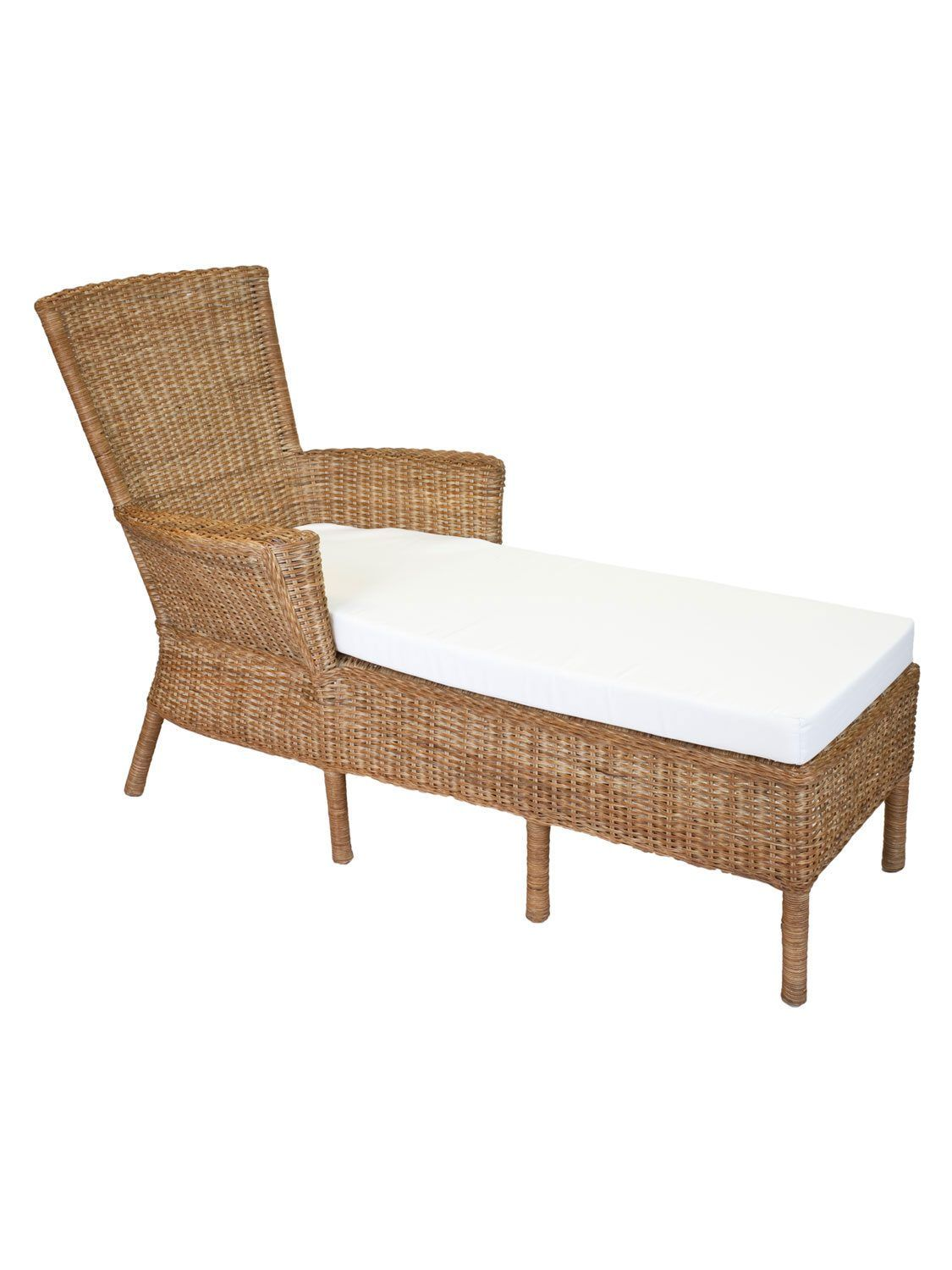 Chaise Z Puget Sound Wicker Chaise With Arms In 2019 Z Extra