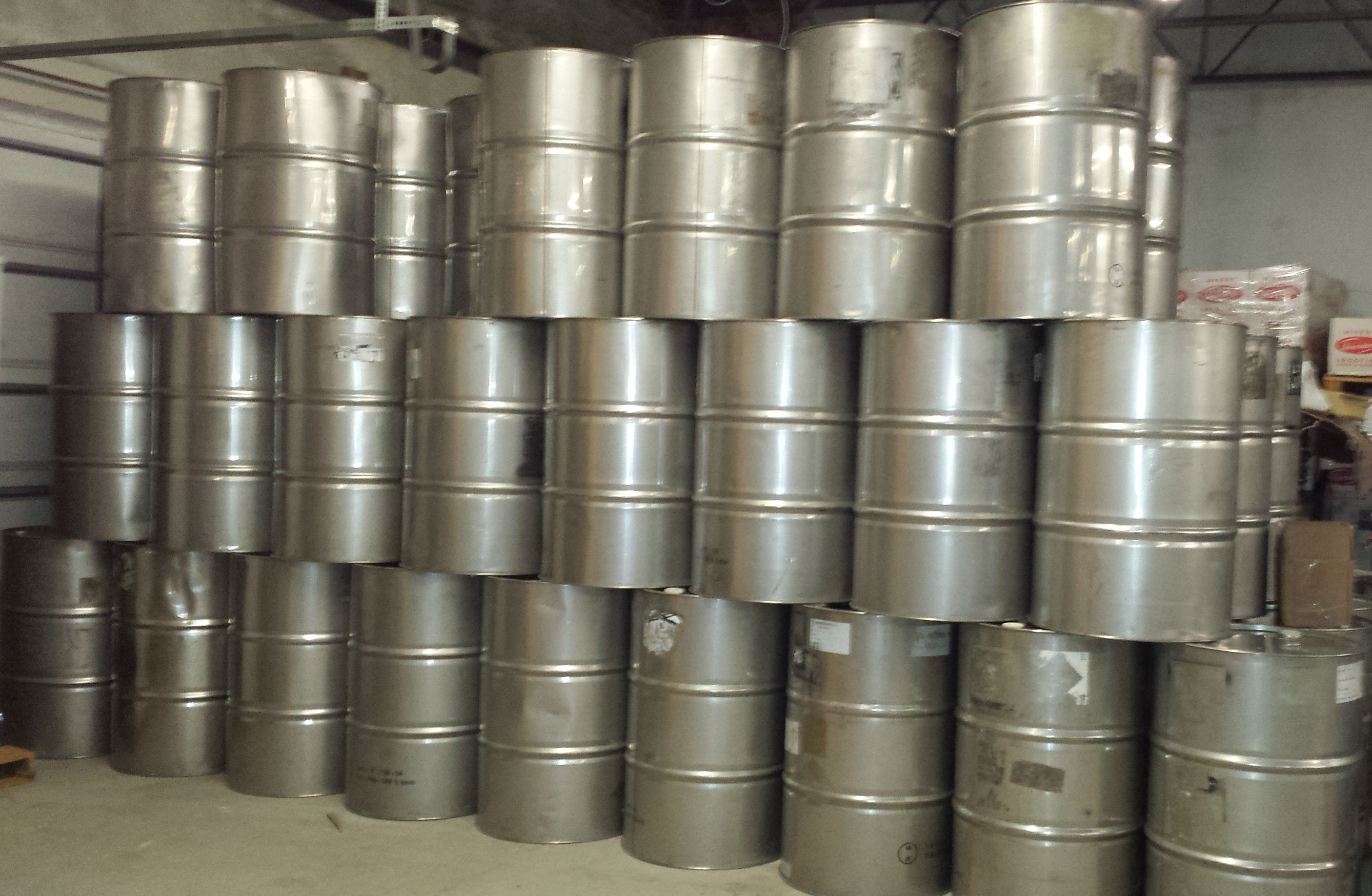 55 Gallon Stainless Steel Drums From Www