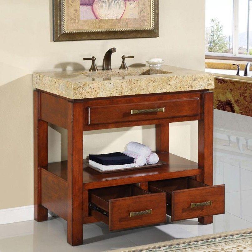 Homemade Bathroom Vanity | Bathroom Design: Vanity Single Sink Cabinet, 32  Single Sink Vanity