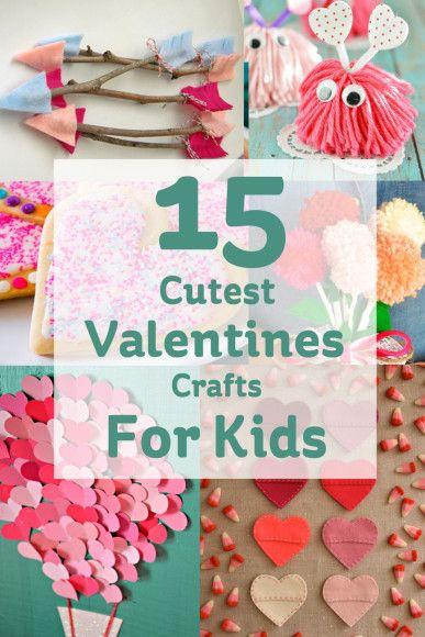 15 Cute Valentine S Day Crafts For Kids Valentine S Day Crafts