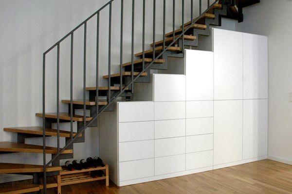 Mobeldesign Schrank Unter Treppe Treppe Selber Bauen Treppenschrank