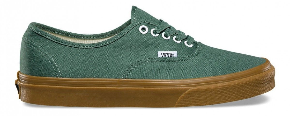 4f946b9037e Vans Authentic Duck Green Gum in 2019