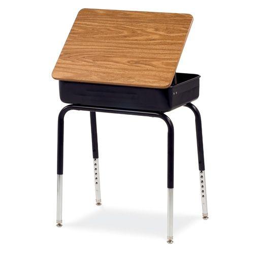 Virco 751 Schooloutlet Com School Desks Lidded Desk Student Desks