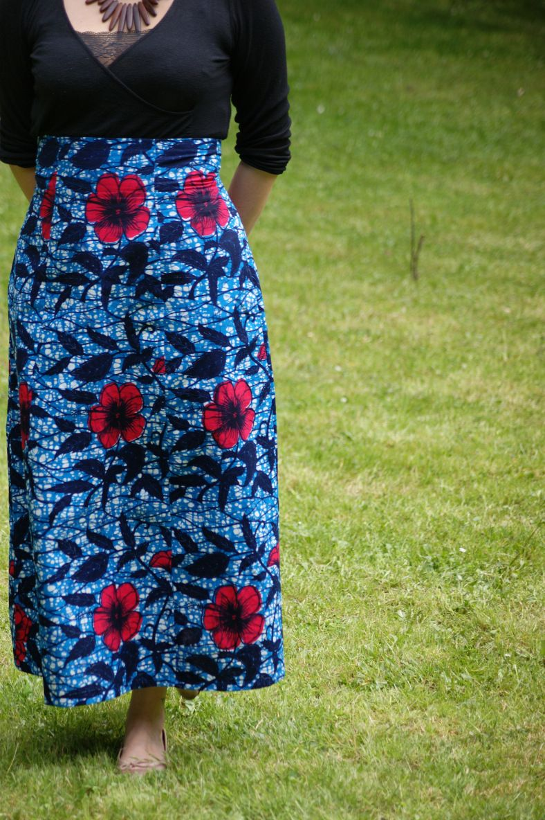 Anémone Deer and Doe  maxi skirt