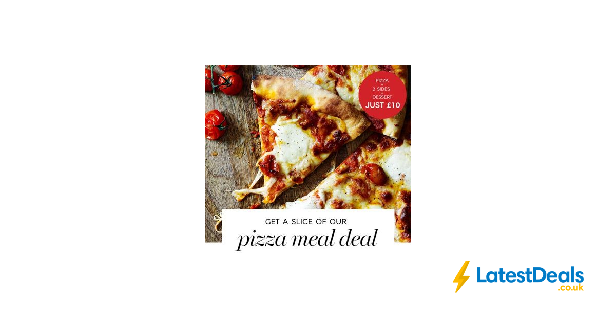 Ms Wood Fired Pizza Meal Deal Is Back 10 At Marks