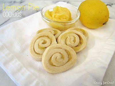 Lemon Pie Cookies made with Lemon Curd