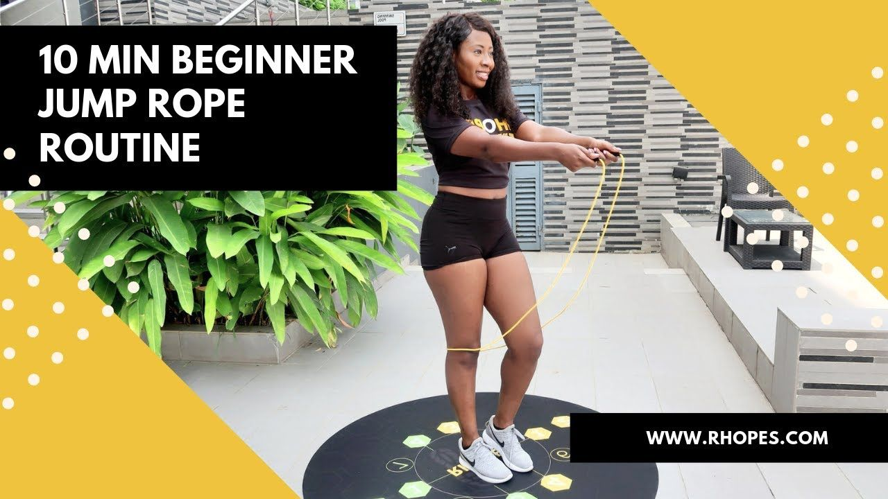 10 Min Beginner Jump Rope Workout Afrobeats Youtube In 2020 Beginner Jump Rope Workout Jump Rope Workout Community