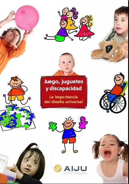"""Educación Preescolar: LIBRO """"JUEGOS, JUGUETES Y DISCAPACIDAD"""""""