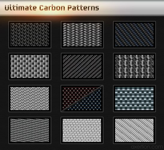 Ultimate Carbon Patterns Pack by ~Axertion on deviantART
