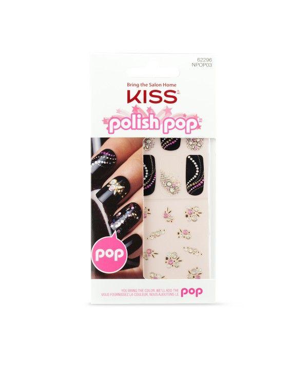 Polish Pop™ Nail Art by KISS - Nail Art - Nails | nails | Pinterest ...