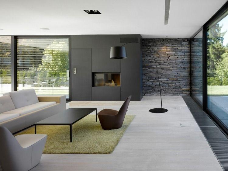 Salon cheminée modernes: idées et astuces déco