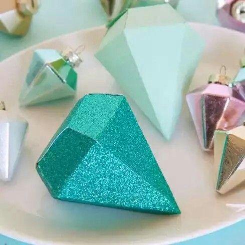 Como Hacer Piedras Preciosas De Papel Diamante De Papel