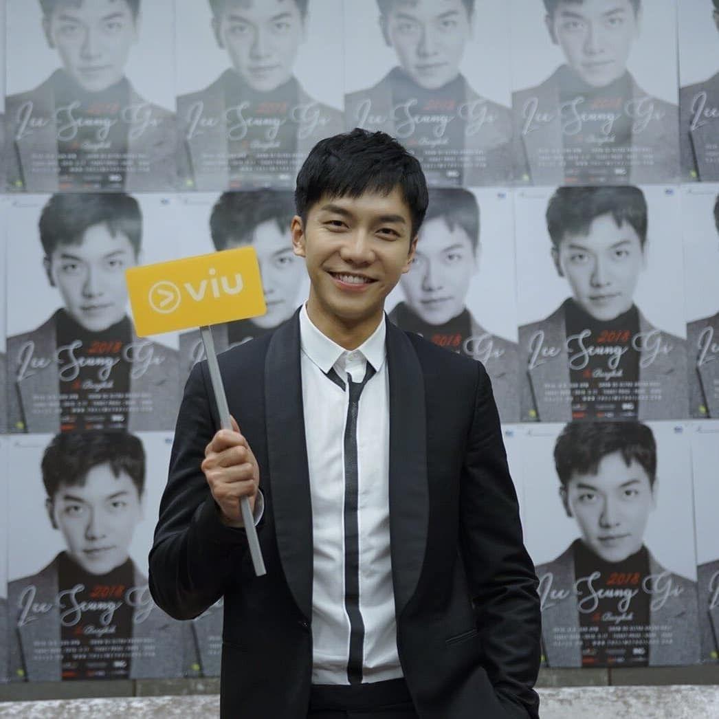 Lee Seung Gi Fan Meeting In Thailand 2018 Lee Seung Gi Korean Actors Asian Love