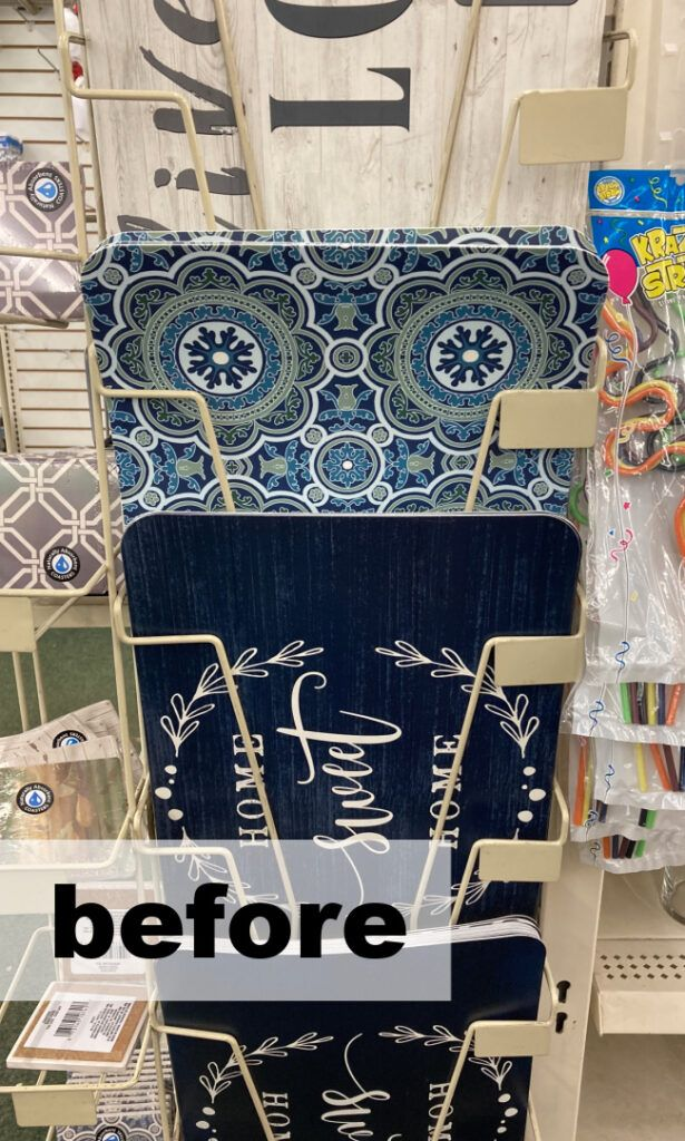 Genius! Dollar Store Placemats - 6 Crafts and DIY