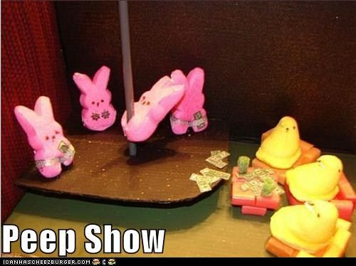 Peep Show! Happy Easter =)