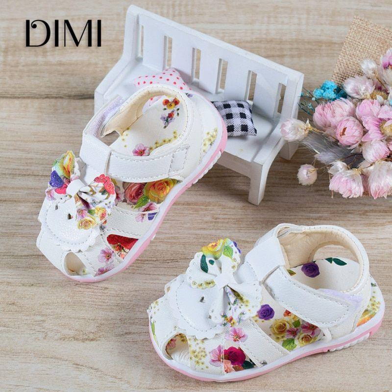 2019 Summer Toddler Girls Sandals Kids Fashion Braided Sandals Baby Size 9-12