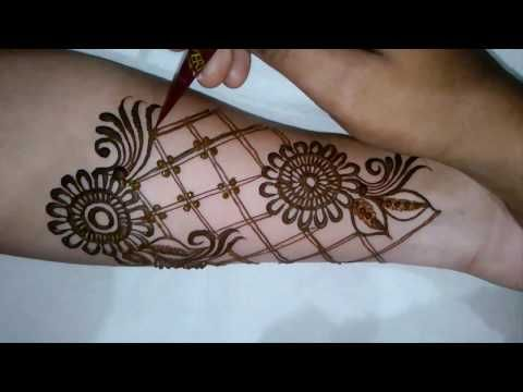 Wrist Mehndi Patterns : How to apply most beautiful mehndi design ever for bride full