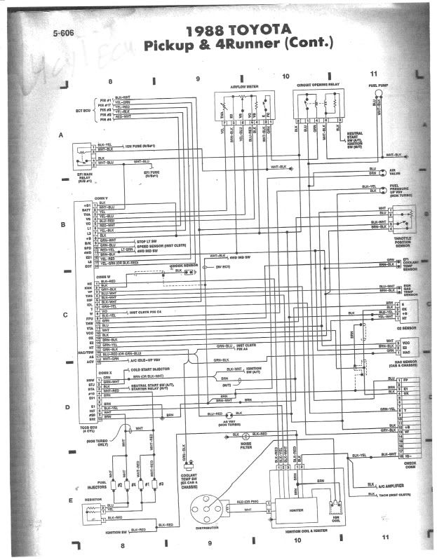 1988 Toyota Pickup Radio Wiring Diagram 6 Speaker S2 Wingblog De Rh 34 Malibustixx Stereo Hilux