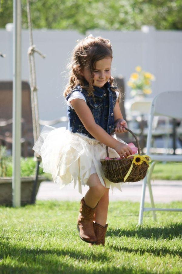 50 Perfect Rustic Country Wedding Ideas | Flower girls | Pinterest ...