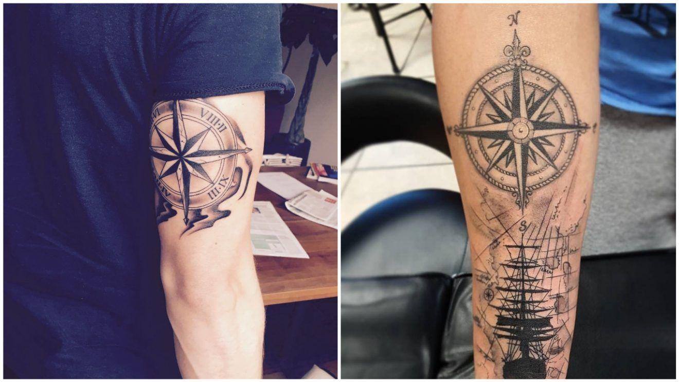 Tatuajes Para Hombres 109 Disenos De Tattoos Significado Mas Sexies Tatuajes Para Hombres Tatuajes Tatuaje Brujula