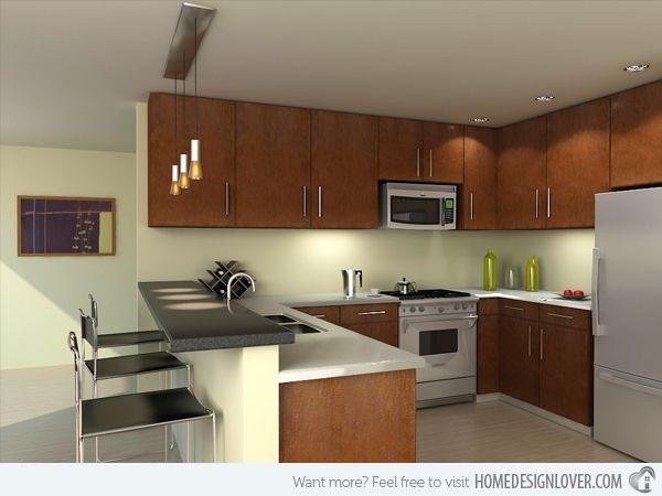 20 Modern and Functional Kitchen Bar Designs | Home Design Lover