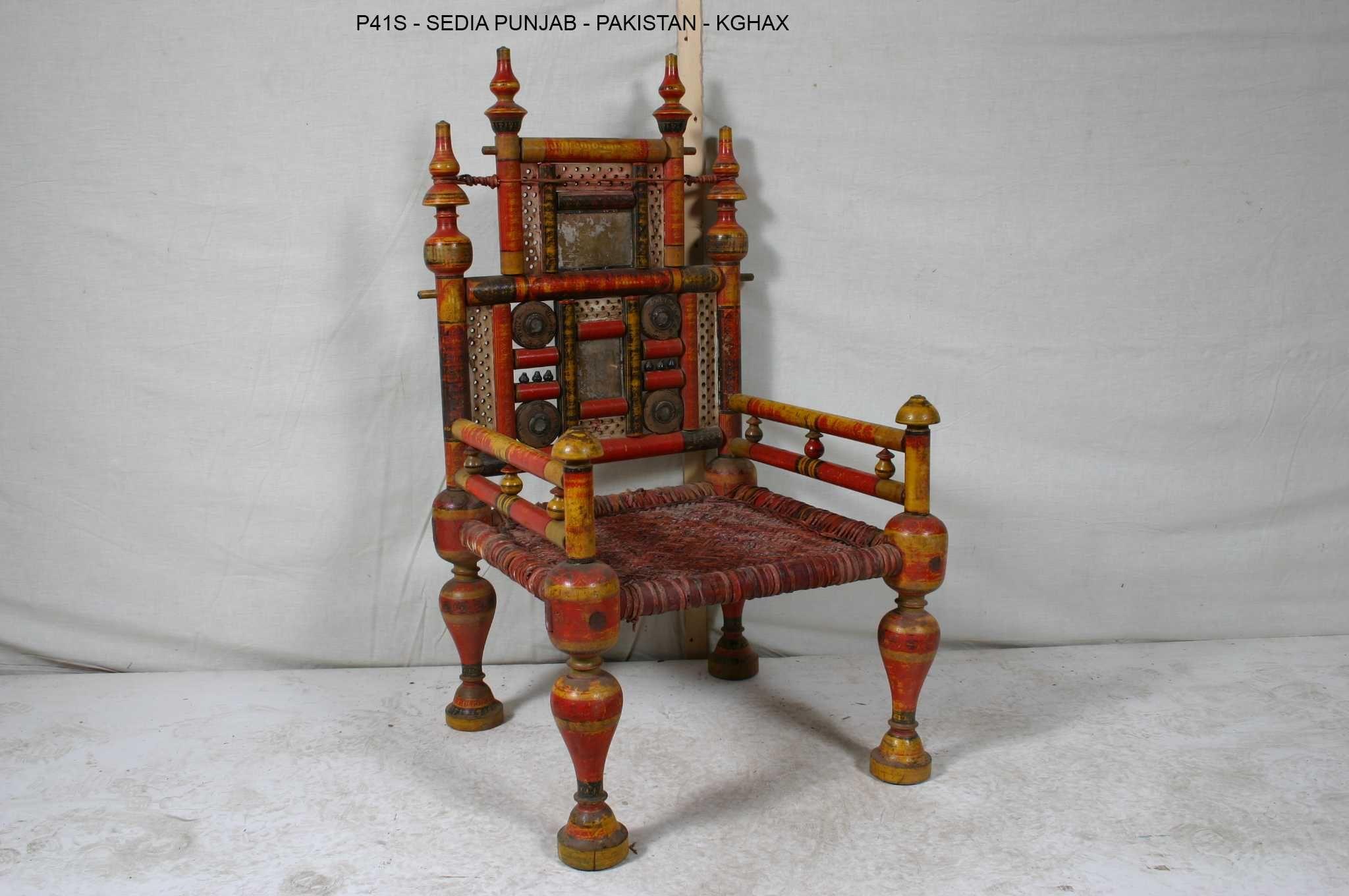 Sedie Ottocento ~ Sedia pakistana  sedie e tavoli d oriente