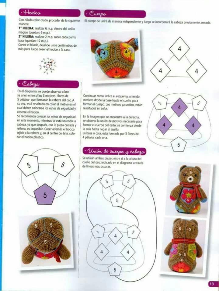 Pin von Pauline Lim auf Amigurumi Hexagon crochet | Pinterest ...